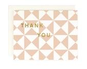 Pinwheel Thank You - Greeting Card