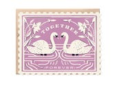 Together Forever Stamp - Die cut card