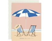 Shore do love you - Greeting Card