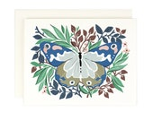 Butterfly No. 3--blank greeting card