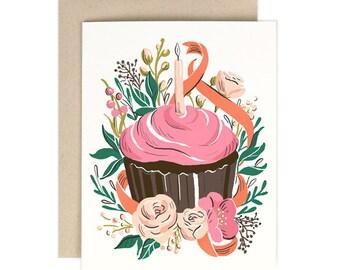 Cupcake Birthday Vol. 2 - Birthday Card