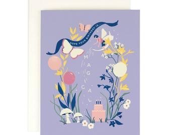Fairy Magical - Birthday Card