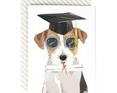Bright Future- Graduation Dog Card