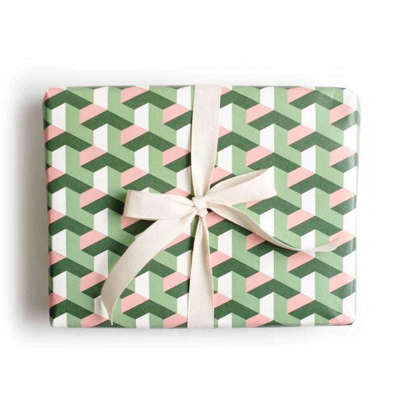 Geometric Tile Gift Wrap image 0