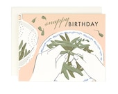 Snappy Birthday - Greeting card