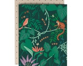 Wild About You - Greeting Card