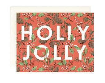 Holly Jolly - Christmas Card