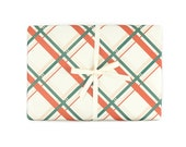 Vintage Plaid Gift Wrap