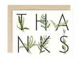 Thank You Card - Fern Thanks