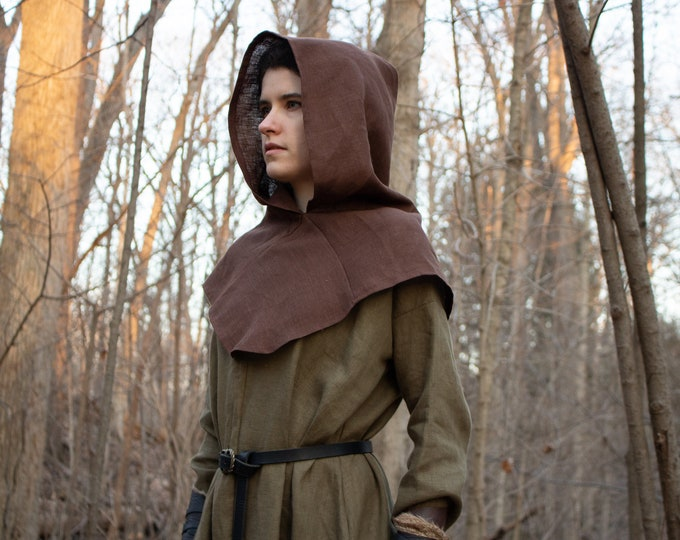 Medieval Hooded Capelet /F/ (LB)