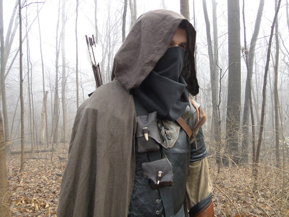 Ranger Outfit Set Complete - Medieval Archer Costume - Custom Made (AB)