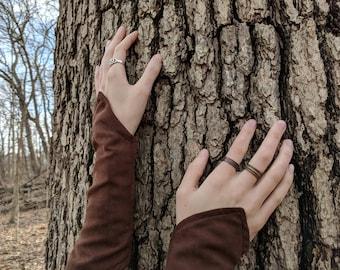 Soft Elven Gloves, Fairy Fantasy Elf Renaissance Medieval, Women's Pair - Choose Your Color!