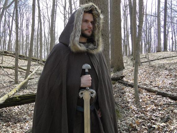 Médiévale Viking Fourrure À Manteau CapuchonEtsy Cape VUjzGSMLpq