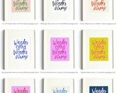 Pick Your Color Combo Print - Wander Often Wonder Always® Print