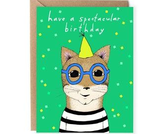 Funny Birthday Card, Pun Birthday Card, Pun Card, For Friend, Him, Boyfriend, Cute Birthday Cards, For Husband, Her, Wife, Kid, Glasses
