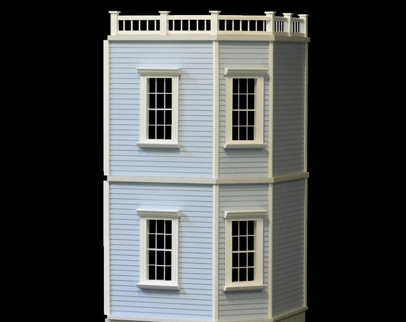 1:12 Two Story Addition for Newport Dollhouse KIT