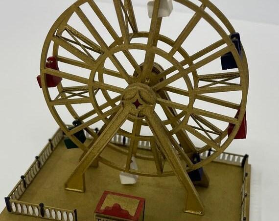 1:144 Micro Mini Wooden Scale Model KIT, Ferris Wheel, 1/144 scale