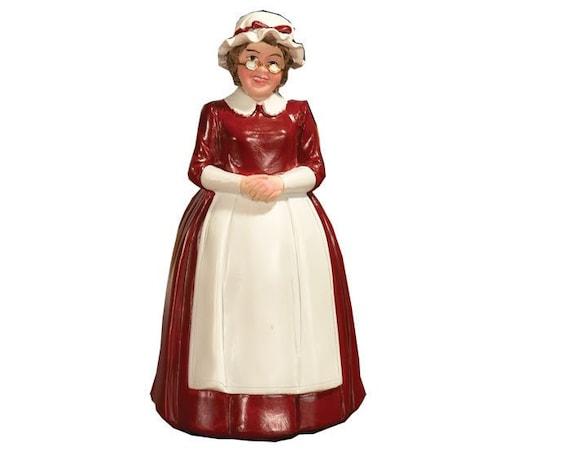 Dollhouse Miniature Mrs Claus, 1:12 scale