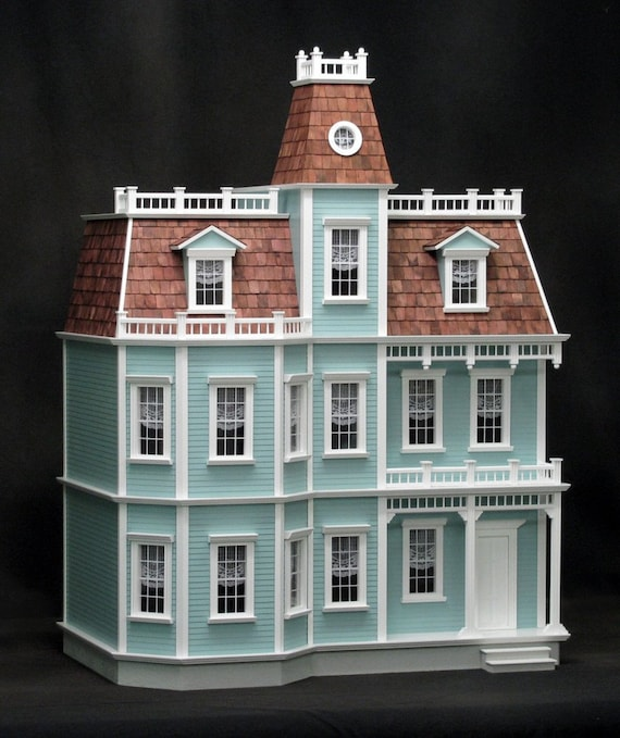 Scale One Inch, Chateau-sur-Mer, Wooden Dollhouse Kit, 1:12 Scale