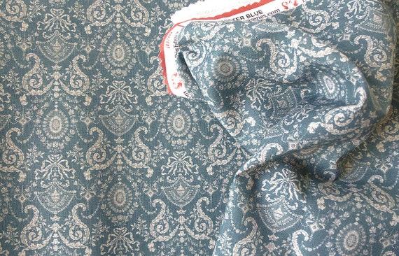 Dollhouse Miniature Fabric, Mary Elizabeth, Scale One Inch