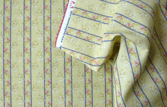 Dollhouse Miniature Matching Fabric, Ballerina, Scale One Inch