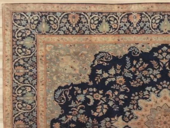 1:24 Dollhouse Miniature Room Size Persian Style Rug, Jasmin