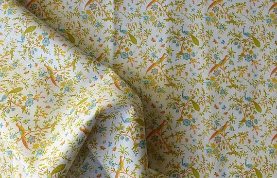 Dollhouse Miniature Matching Fabric, Peyton, 1:12 scale