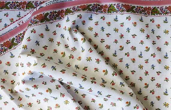 Dollhouse Miniature Matching Fabric, Riviera,  1:12 Scale
