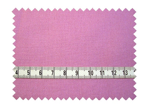 Dollhouse Miniature Fabric, Rose Mauve, Scale One Inch