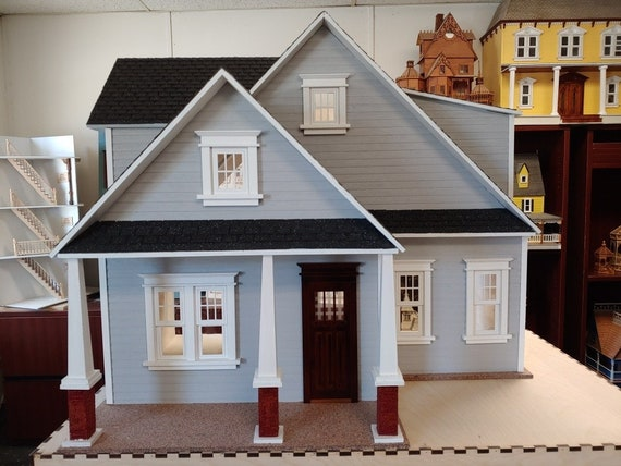 Craftsman Cottage, Scale One Inch