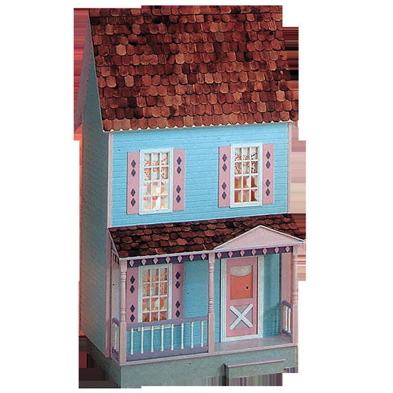 Courtney, Playscale Country Home Wooden Dollhouse Kit