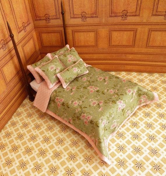 Dollhouse Miniature Double Bedding KIT, Suzie, 1:12 scale