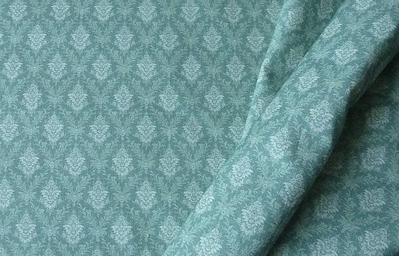 1:12 Dollhouse Miniature Fabric, Lucrative, Scale One Inch