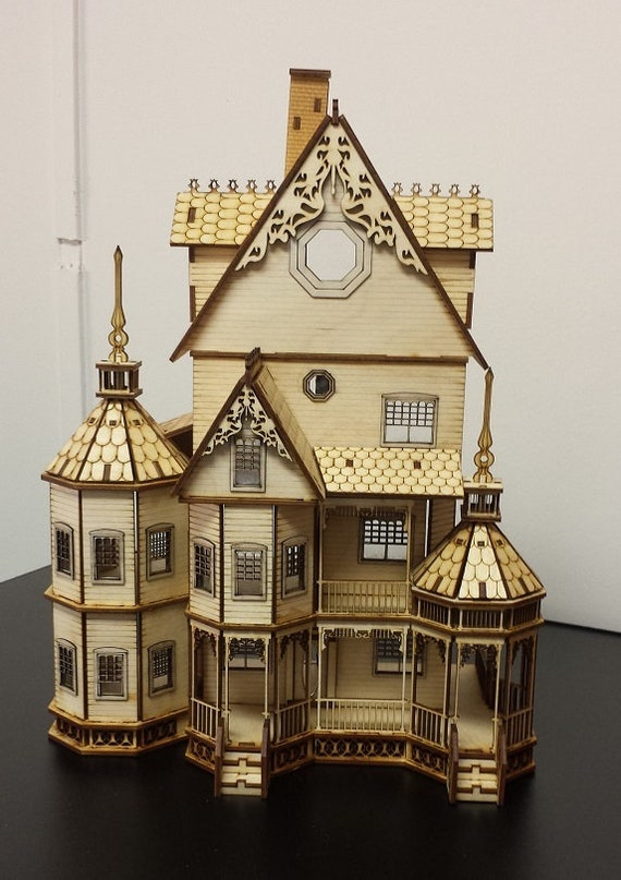 Dollhouse Miniature 1:12 Scale Victorian Gothic Corner Backet Set