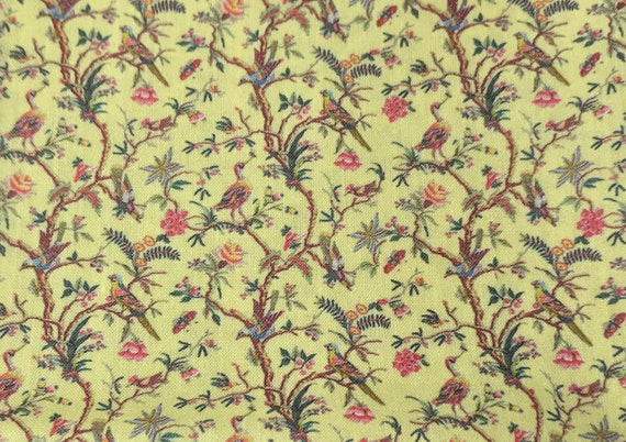 Dollhouse Miniature Matching Fabric, Noah's Sunny Day, Scale One Inch