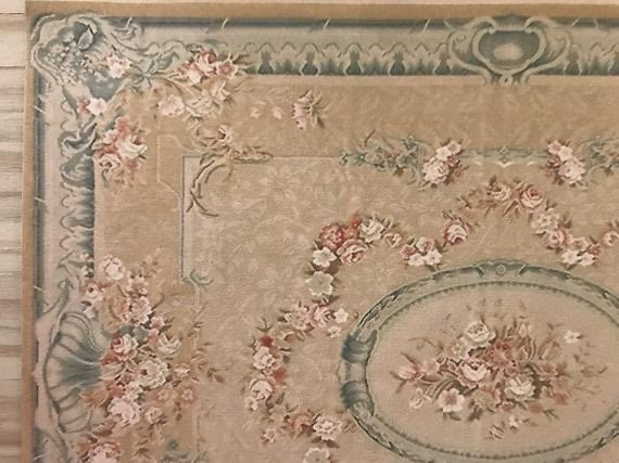 1:24 scale French Aubusson Rug