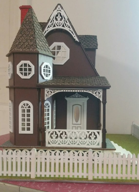 Pandora, 1:24 Wooden Dollhouse Kit, Scale Half Inch