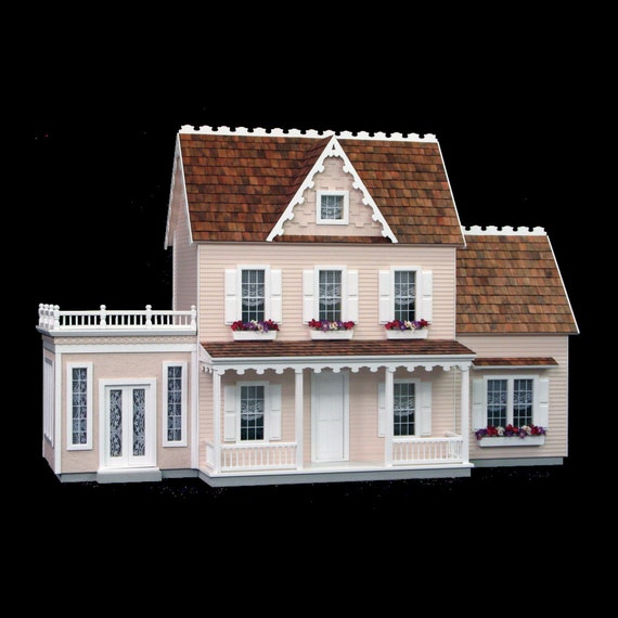 2 Room Addition for Emily Vermont Farmhouse, 1:12 scale