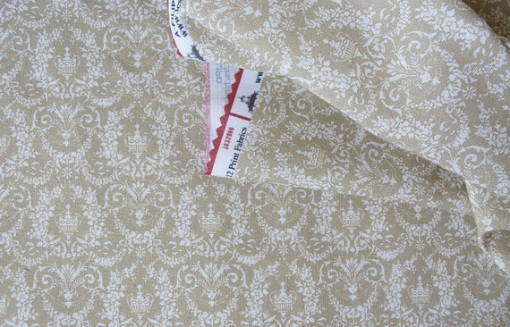 Dollhouse Miniature Matching Fabric, Delight, Scale One Inch