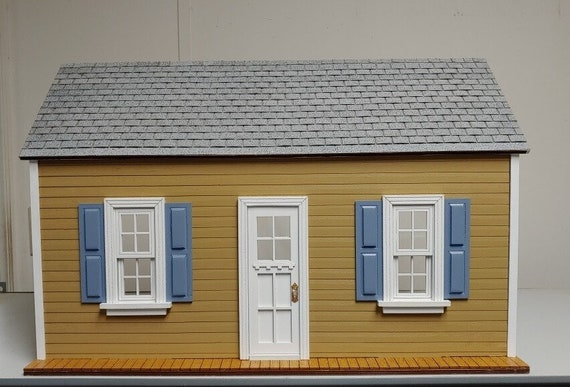 1:12 Wooden Dollhouse KIT, PERFECT 1st PROJECT, Scale One Inch
