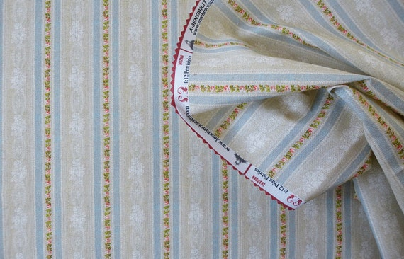 Dollhouse Miniature Fabric, Sense and Sensibility, Scale One Inch