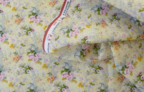 Dollhouse Miniature Fabric, Amelia, Scale One Inch