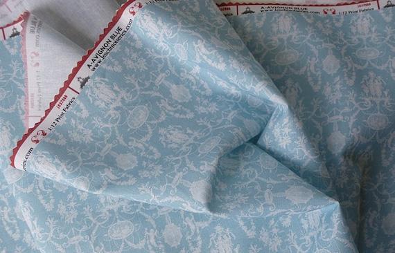 Dollhouse Miniature Fabric, Cameo, 1:12 Scale