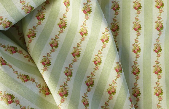 Dollhouse Miniature Matching Fabric, Savoy, 1:12 scale