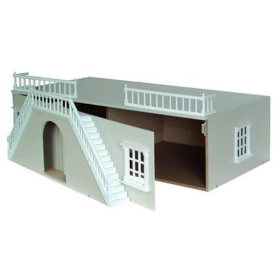 Wooden Dollhouse KIT, Basement for Grande Georgian Mansion, 1:12 scale