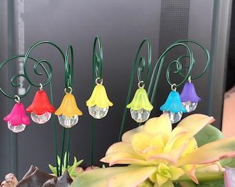 Set of 7 Fairy garden lantern miniature garden accessory