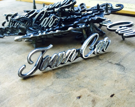 Vintage Lincoln Town Car Hood Ornament Lincoln Towncar Auto Etsy