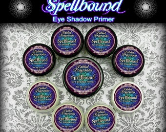 SPELLBOUND Eye Shadow Primer - White Primer, Cream Eyeshadow Base, Eye Makeup Primer, VEGAN Cosmetics, Ships Out in 5-8 Days