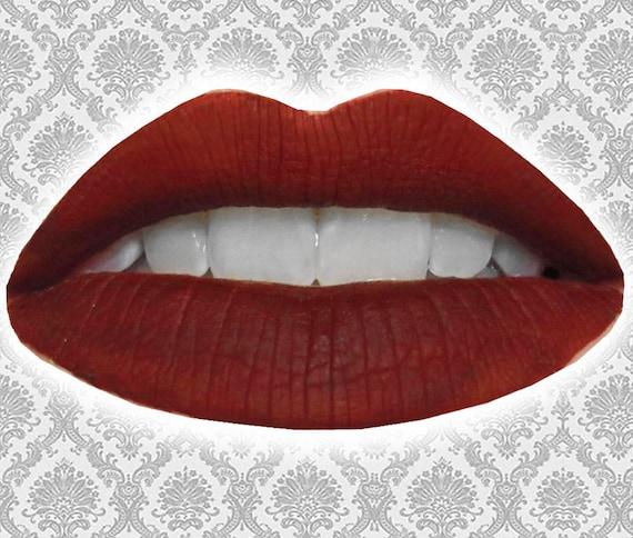 recipe: blood red liquid lipstick [6]