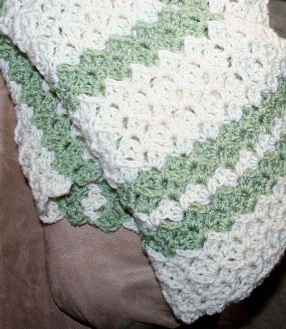 Crochet Blanket Pattern Easy Throw Pattern Child / Adult